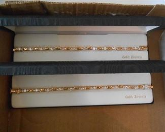 Cubic Zirconia tennis bracelets