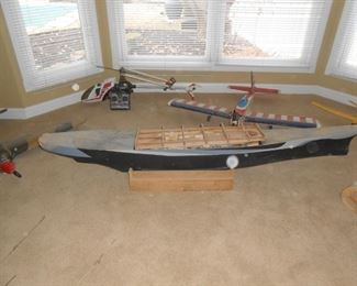The very long cruiser is approximately 5'