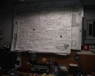 Various plans from plane kits