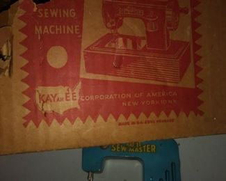 Small vintage sewing machine by KAYanEE