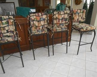 These bar stools are so nice!