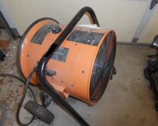 Large heater works all the way