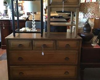 oak dresser, oak night stand, side tables