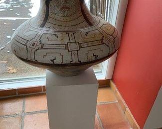 Large Peruvian vase
