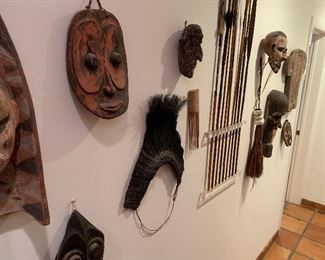 Artifacts from New Guinea