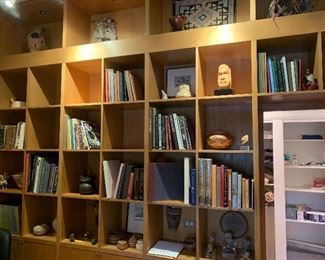 Many art and books