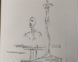 The Search by Alberto Giacometti from the Collector's Guild with COA