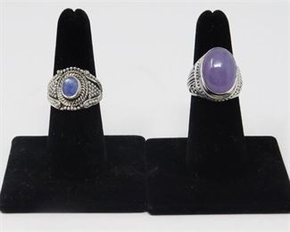 4. Sterling Silver Rings