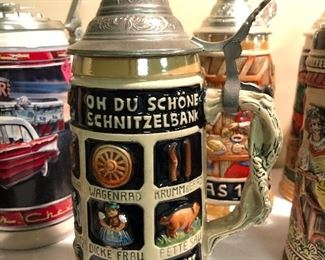 Beer Steins, German Beer Steins