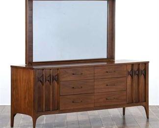 Kent Coffey Perspecta Mid Century Modern Dresser