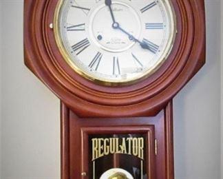 Waltham Regulator Clock