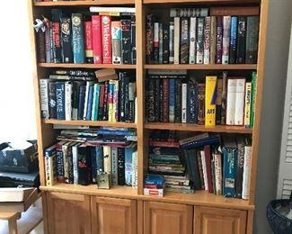 BOOKS & BOOKCASE