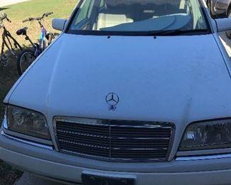 1996 Mercedes C 280                                                                                VIN # WDBHA28E5VF528518