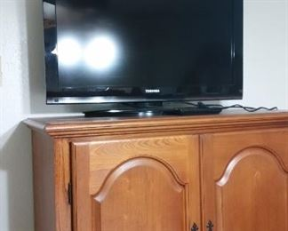 TV and TV armoire