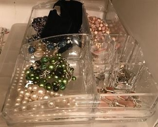 TONS OF COSTUME JEWELRY!!