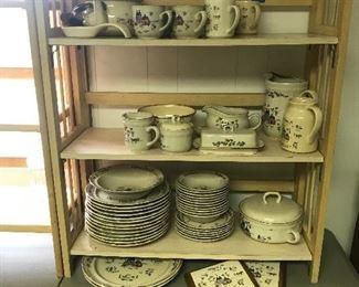 Large Stoneware set (Heartland Village)