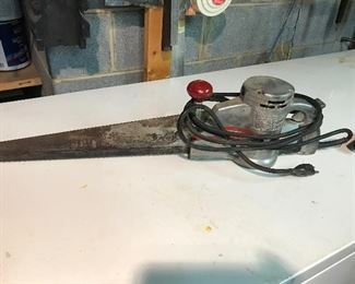 Butcher's meat saw (Wellsaw 400)