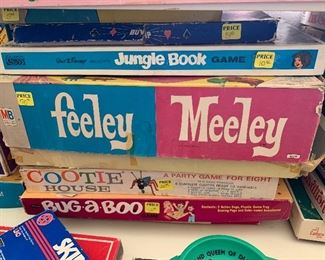 Feeler Meeley game, vintage games
