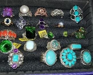 Costume jewelry - rings