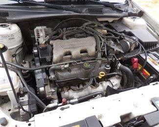 1998 Chevrolet Malibu engine compartment