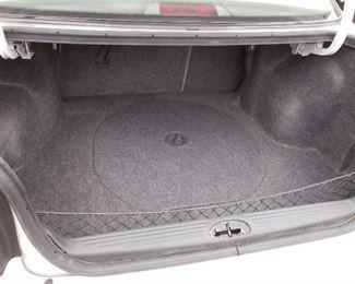 Super clean trunk