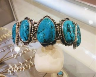 American Indian Turquoise Bracelet Fetish Necklaces