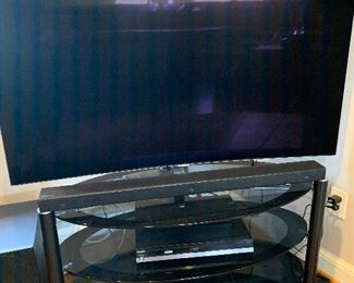"52"" Samsung curved TV"