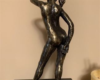 Original bronze statue signed and numbered