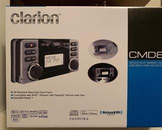 Clarion CMD8 marine stereo unopened box