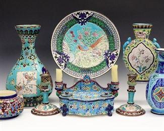 Longwy Art Pottery
