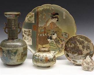 Japanese porcelains
