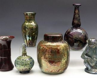 Pottery by B Moore Pilkington