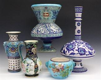 Theodore Deck Art Pottery