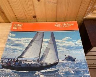 Nautical chart book