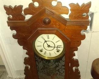 Nice Walnut mantle clock