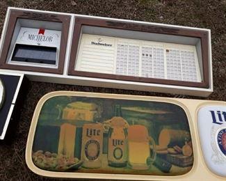 Lite beer lighted sign