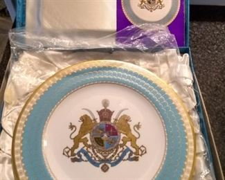 Spode 2500th anniversary of founding of Persian empire. 1971 limited edition.