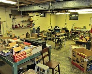 A large tool shop!