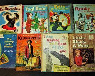 Hundreds of vintage children's books