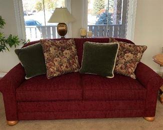 "Norwalk couch -  75""L x 40""D"