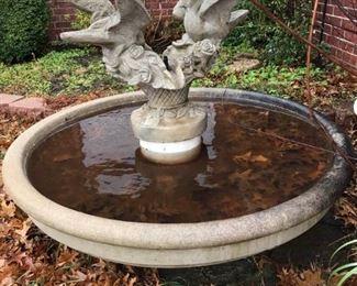 Cement Fountain