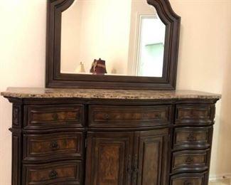 Edington Dresser and Mirror