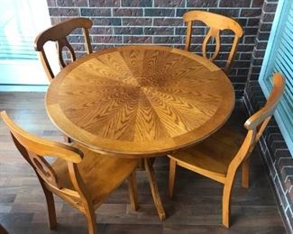 Table and Chairs II