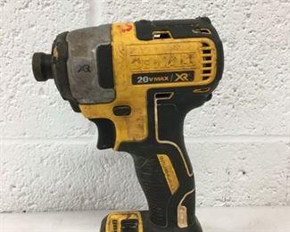 Dewalt 20v max xr drill driver impact driver.