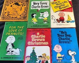 peanuts books