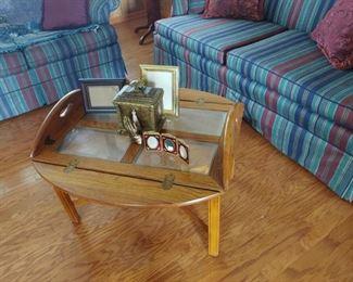 Oak Williamsburg serving coffee table