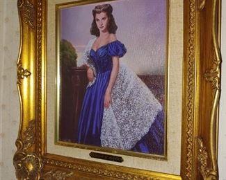 Scarlett O'Hara oil painting