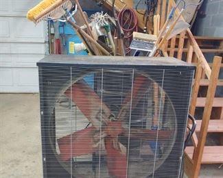 Huge box fan