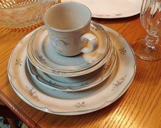 Vintage 70s International China stoneware Japan marmalade pattern Ducks