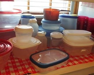 Tupperware and other storage containers we sell it all